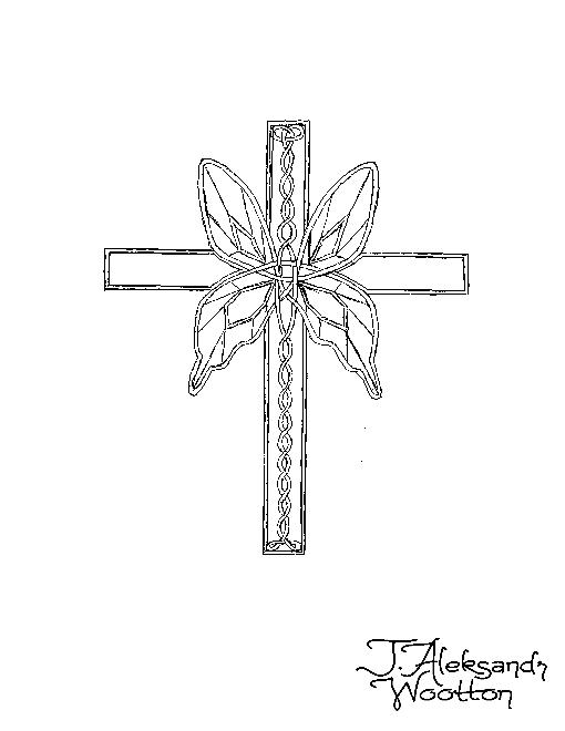 Celtic Cross II by MrWootton