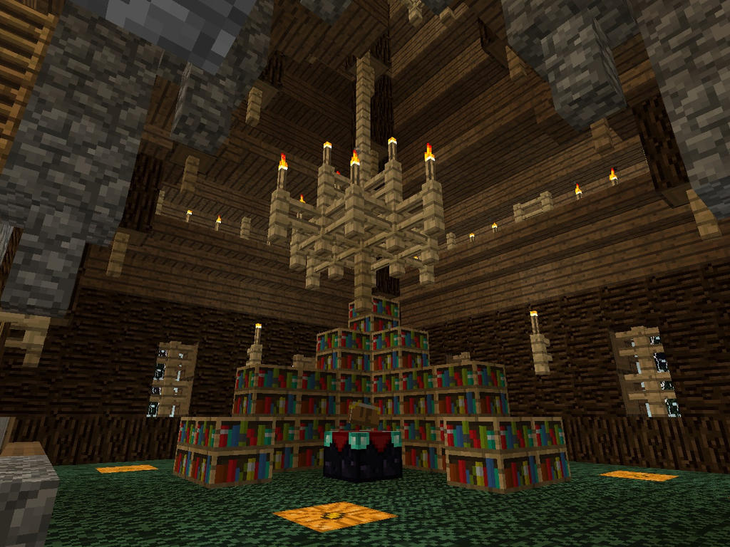 Enchanting Library 4 by MrWootton