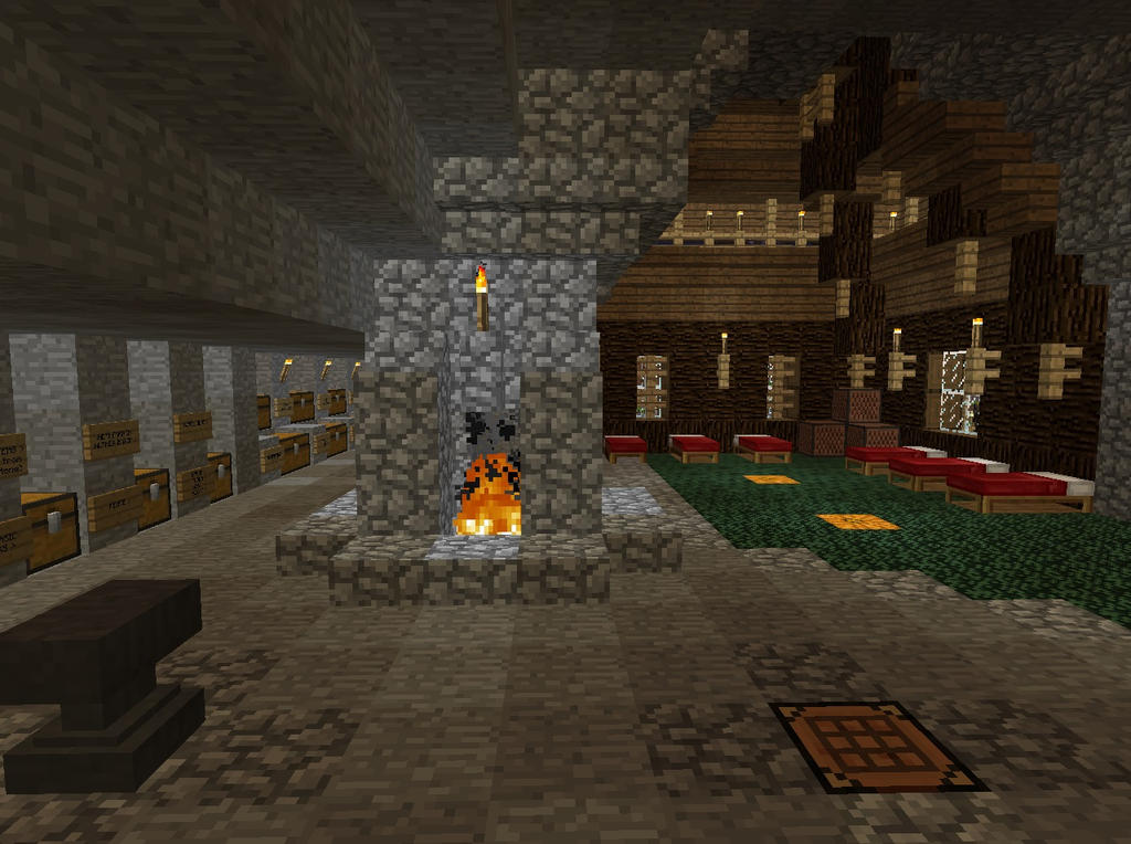 Dormitory and Crafting Area 2 by MrWootton