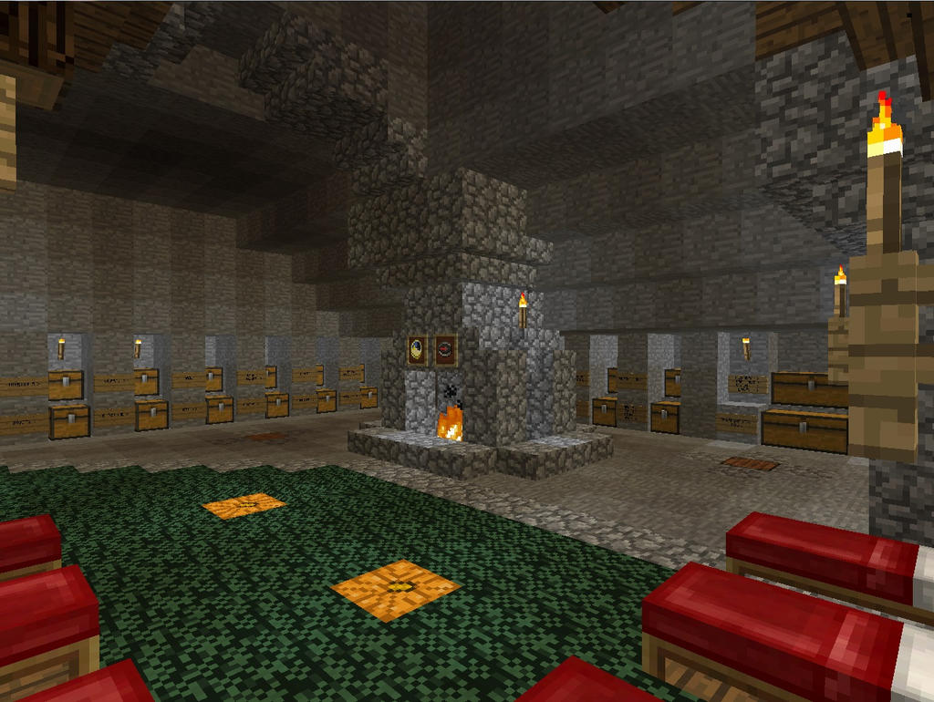 Dormitory and Crafting Area 1 by MrWootton