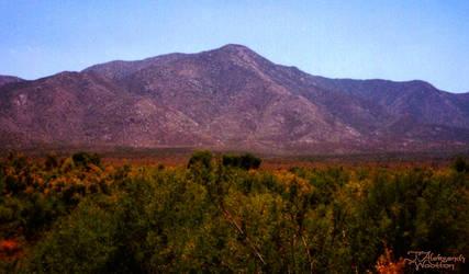 Purple Mountain by MrWootton