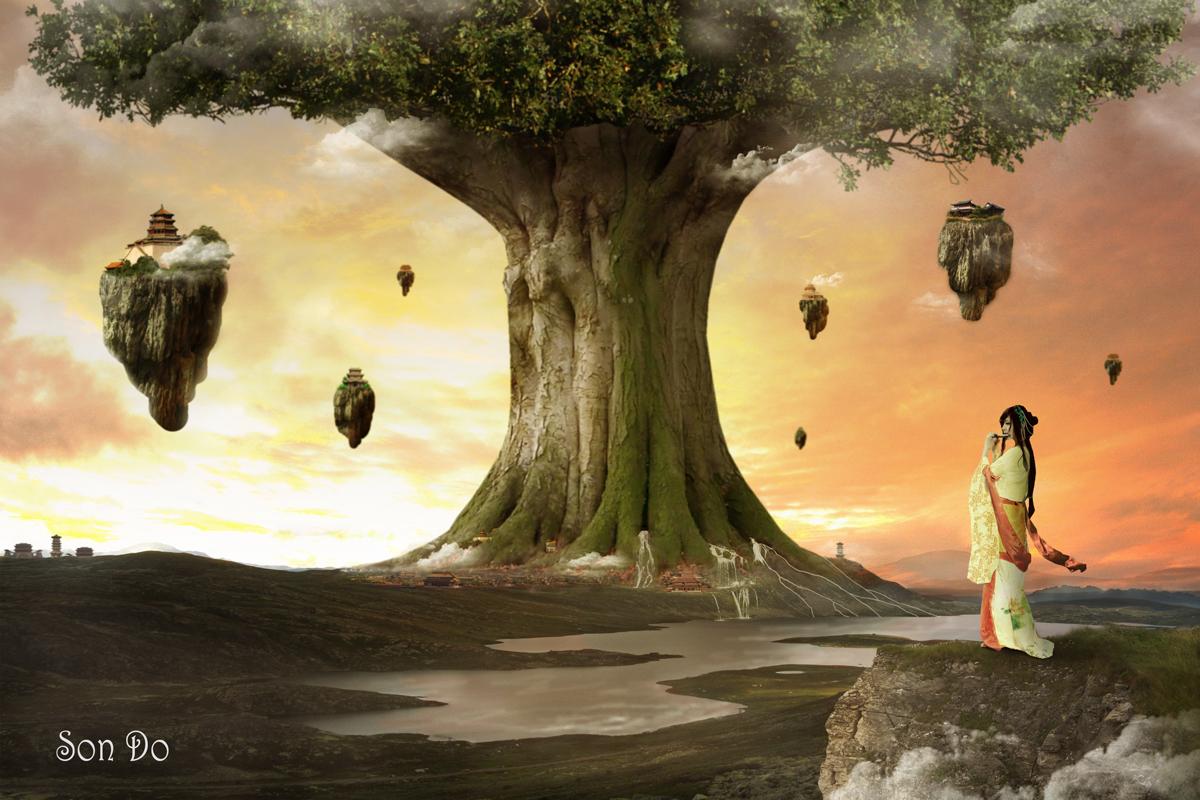 Spiritual Heaven Tree by Sondx47