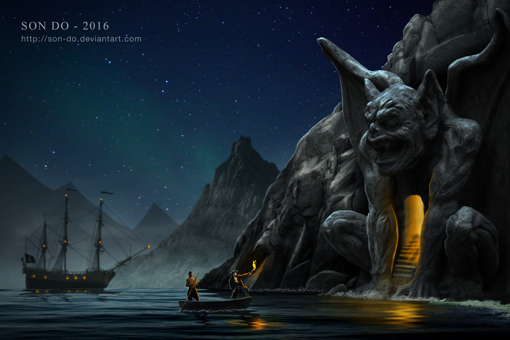 Pirate's cave by Son-Do