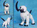 [FREE PATTERN] Pokemon Absol Plush