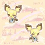 Ukulele Pichu Tumblr Background