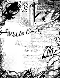 WriteOn2 design by cdjariz