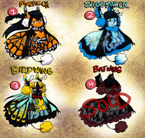 $15/1500pts Flutterlace batch 1 [3/4 OPEN] by CalimonGraal