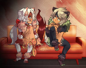 [Nyaps] Leefyn and Luvio