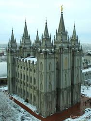 Salt Lake Temple by CanenArt