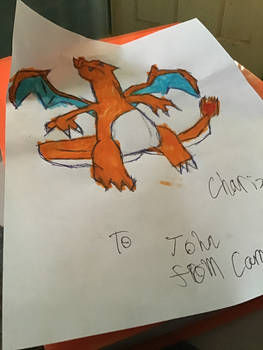 Charizard Drawing