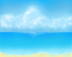 Ocean Side by KisaraGirl