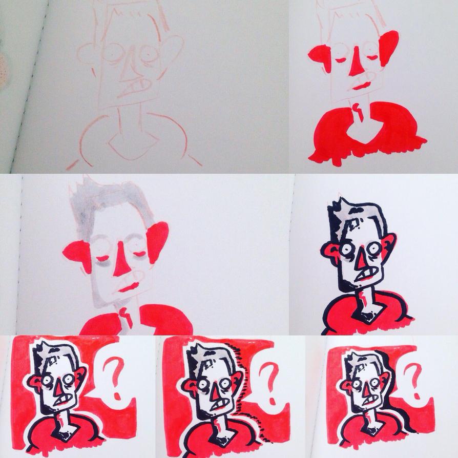 How I draw by xXNuVaXx