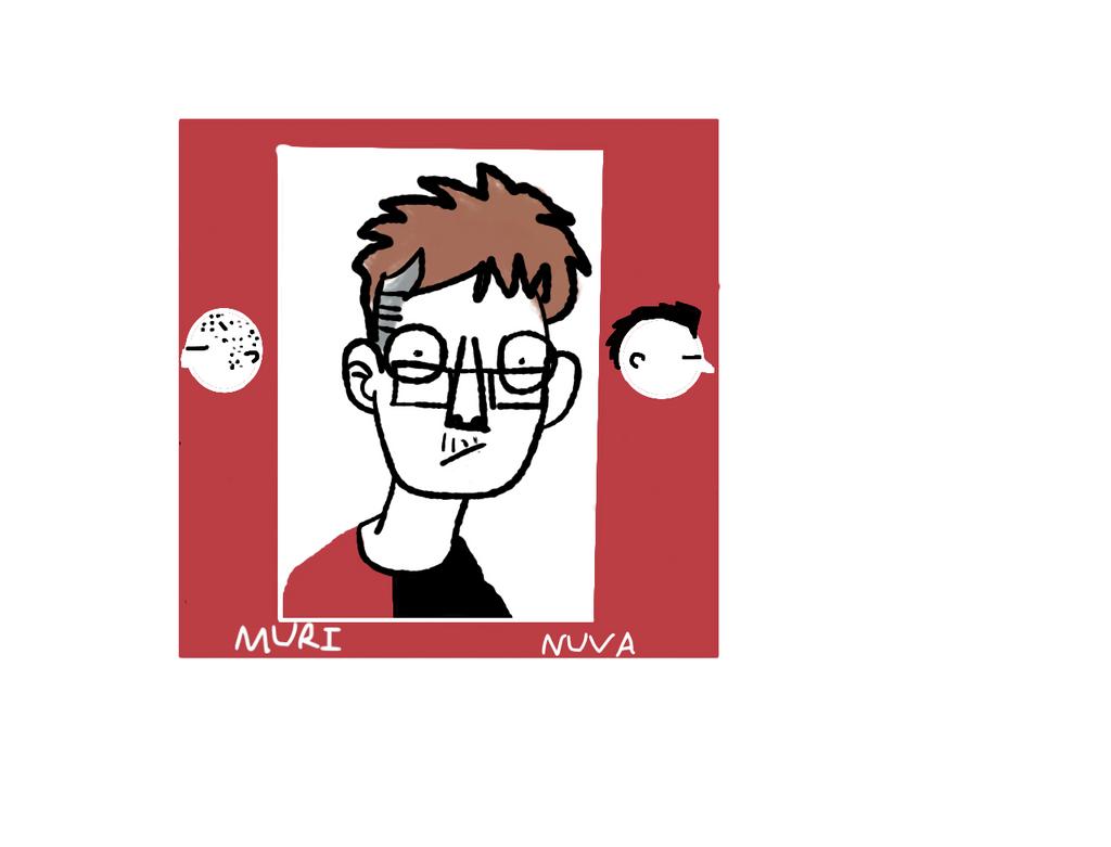 Self portrait by xXNuVaXx