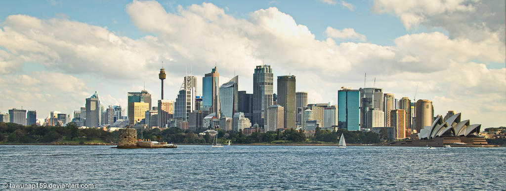 Sydney Skyline by tawunap159