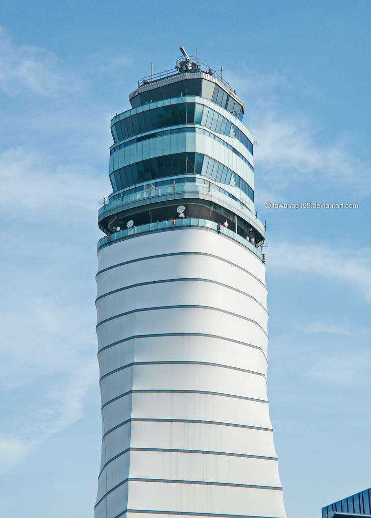 Vienna Airport Control Tower by tawunap159