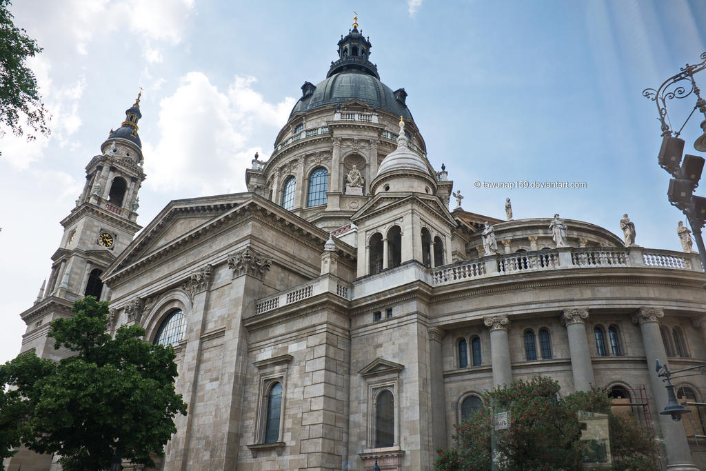 Budapest Architecture by tawunap159