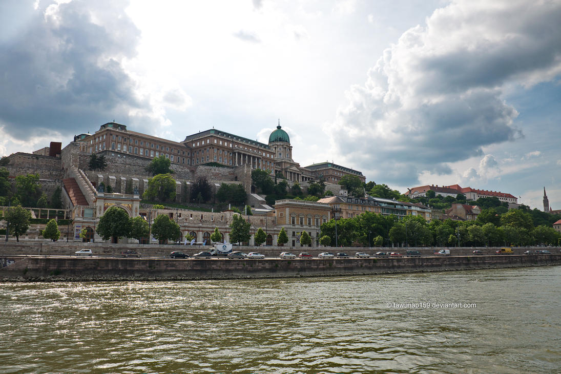 Buda Castle From Danube by tawunap159
