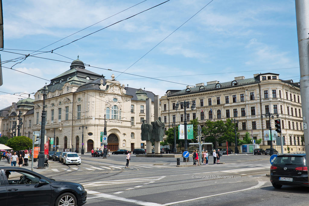 Bratislava Architecture by tawunap159