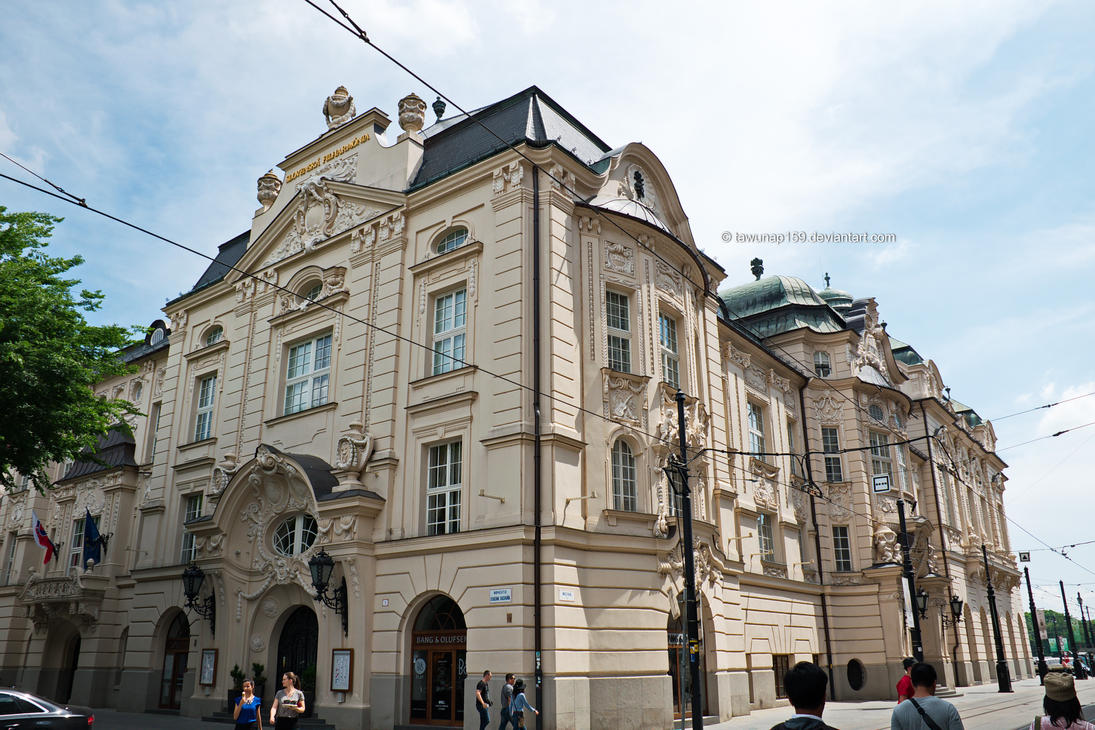 Slovak Philharmonic Orchestra Building by tawunap159