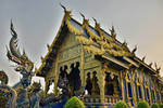 Northern Thailand Temple by tawunap159