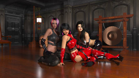 Ladies Three by whirlwindunited