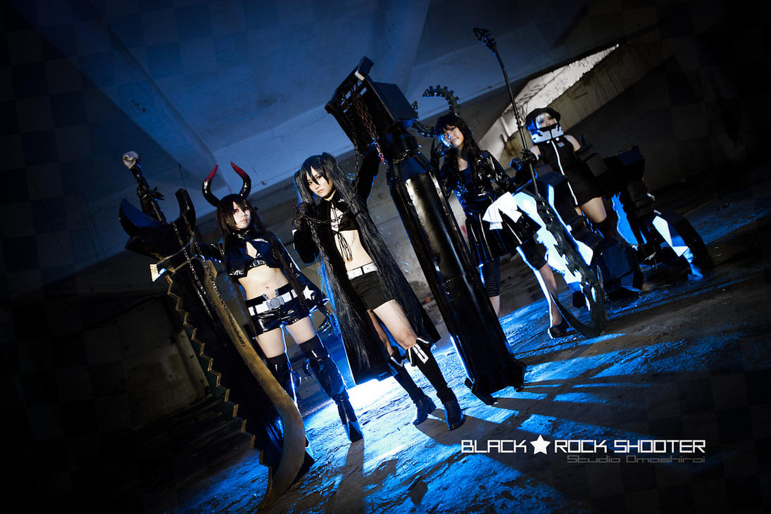 Project Black Rock Shooter by kclee2002