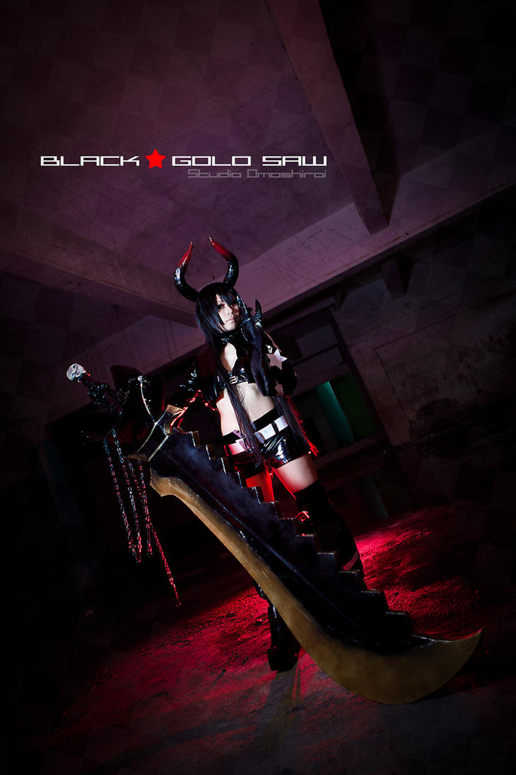 Project BRS: Black Gold Saw by kclee2002