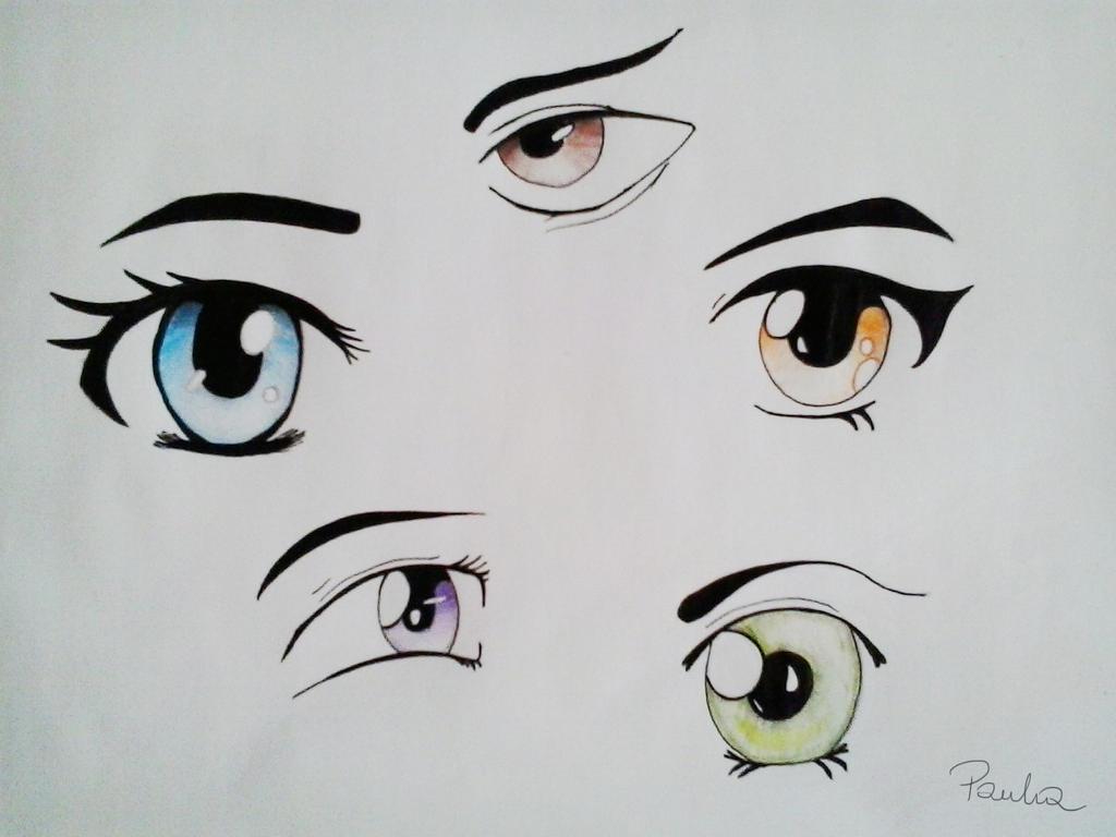 Anime Eyes By Marten007