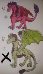 Female dragon adoptables
