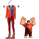 Wreck-It-Ralph Outfit by lillypop1600
