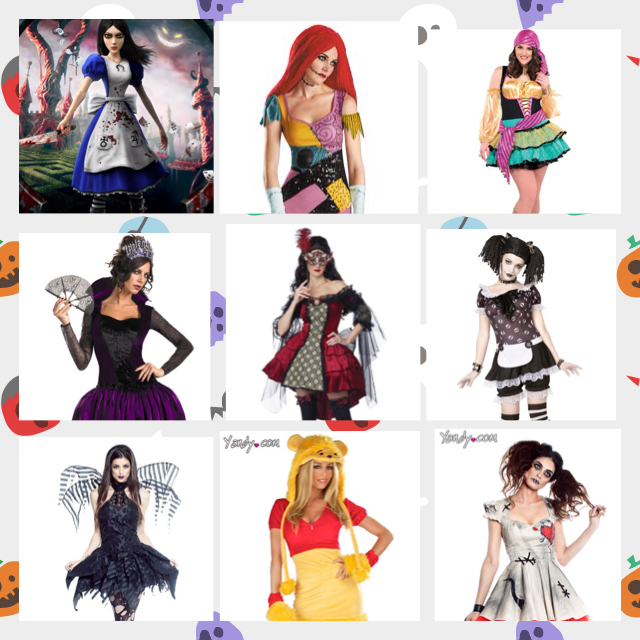 What should I be for Halloween? (Cont.) by lillypop1600 on DeviantArt