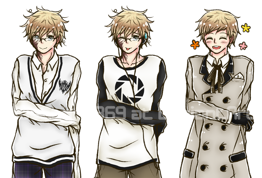 VN Sprites: insufferable nerdy prick by BlueStorm-Studio