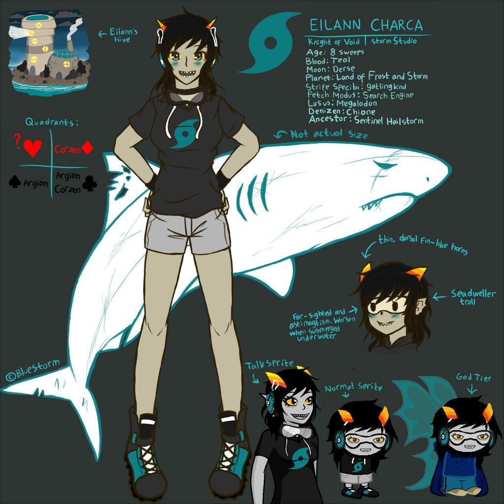 Trollify self: Eilann Charca by BlueStorm-Studio