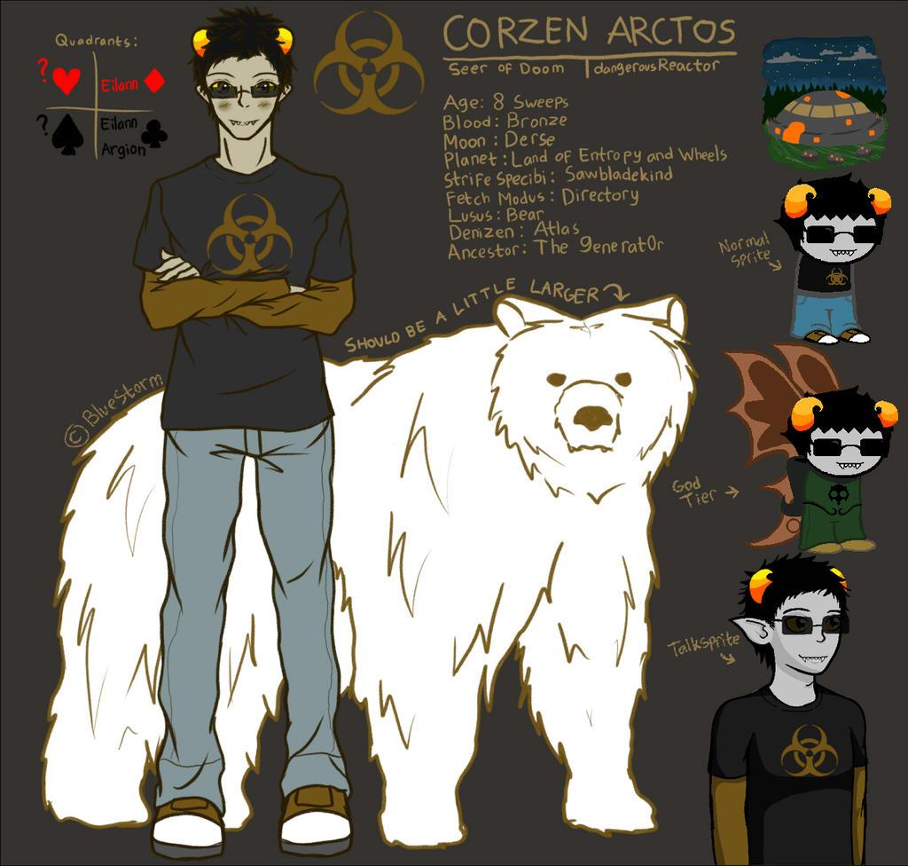 Fantroll: Corzen Arctos by BlueStorm-Studio