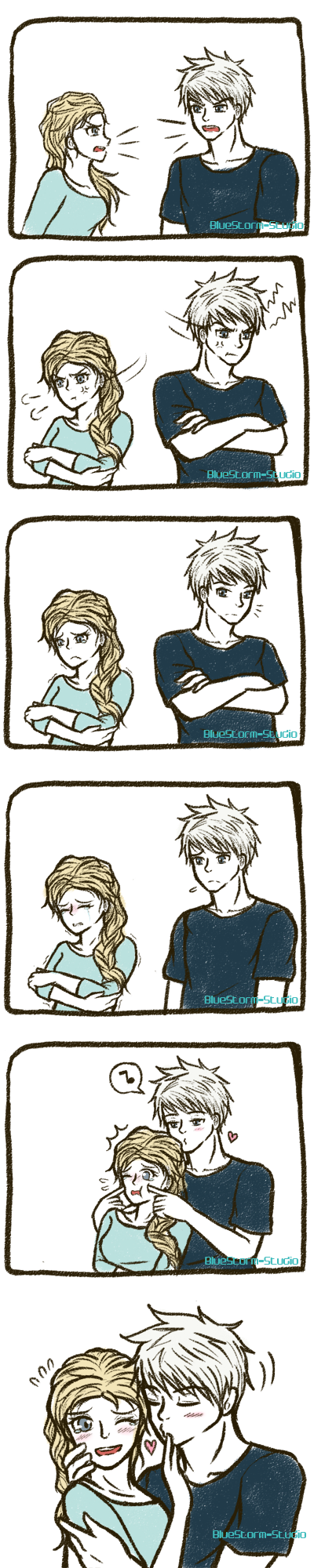 Jelsa: Forgive and Forget by BlueStorm-Studio