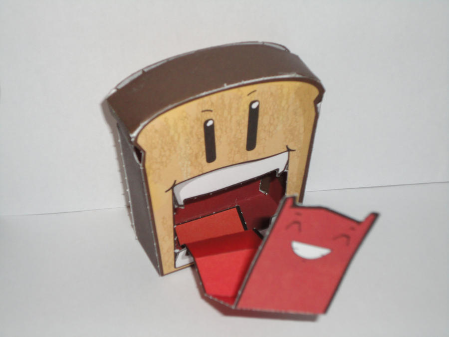 Tongue Toastie - A Papercraft by societyisfucked