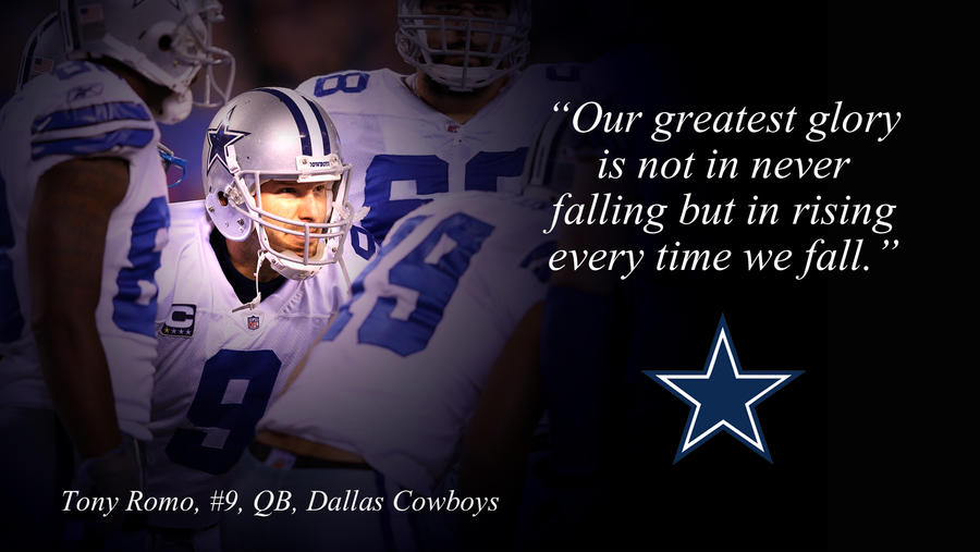 Tony Romo Wallpaper by jason284 on