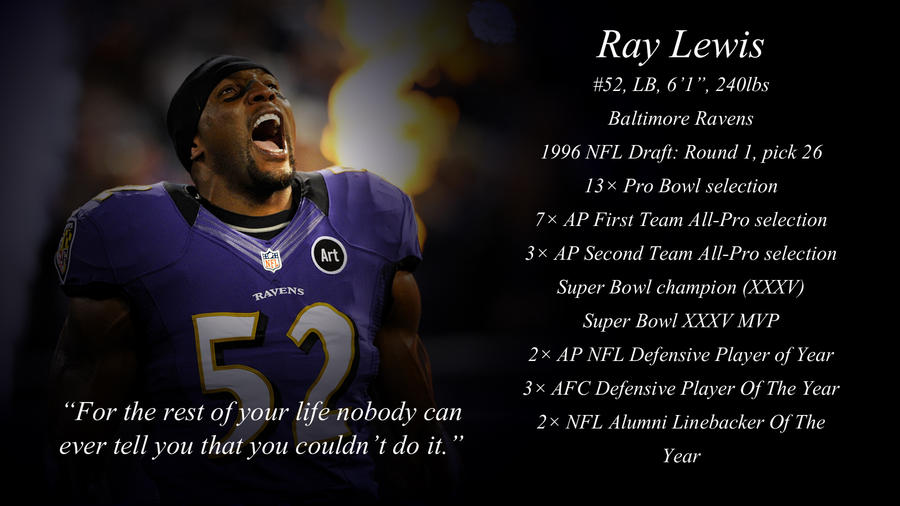 Ray Lewis Quotes Wallpaper: Ray Lewis By Jason284 On DeviantArt