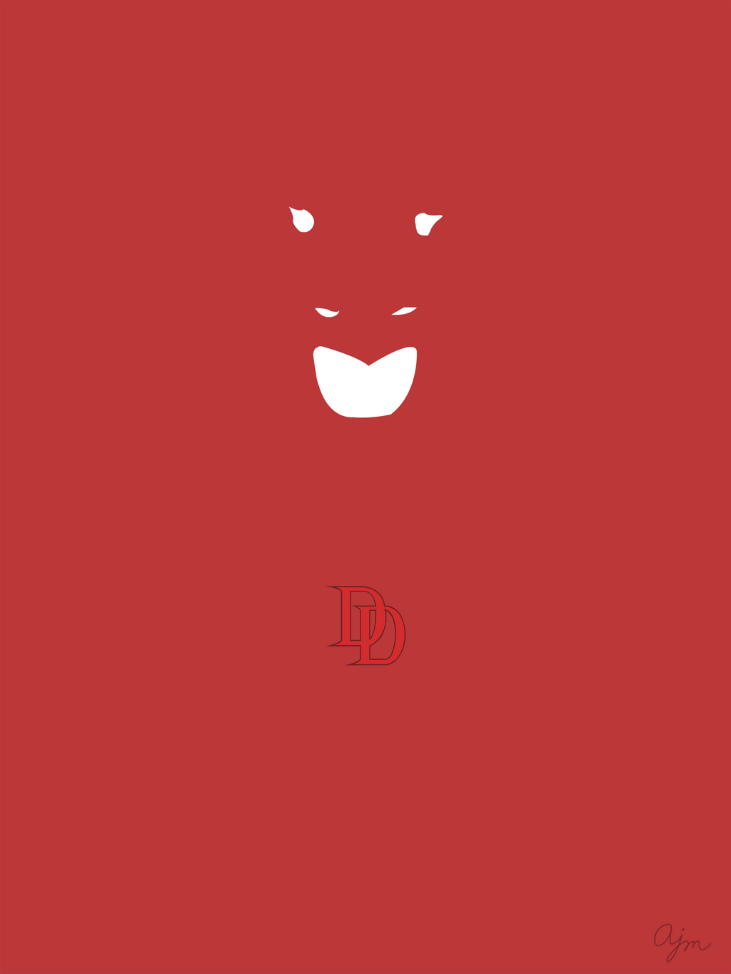 Daredevil Minimal By Amcgready
