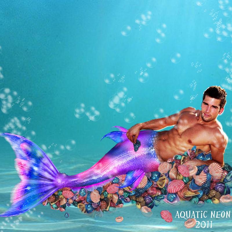 Paradise Merman by AquaticNeon