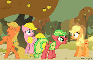 Applejack Generations by AquaticNeon