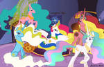 Princess Celestia G1 Relations