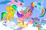 Rainbow Dash Relations