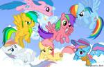 Rainbow Dash Relations