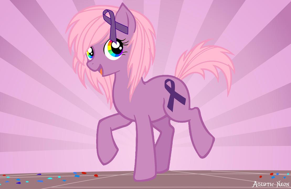 Spirit Day Pony by AquaticNeon