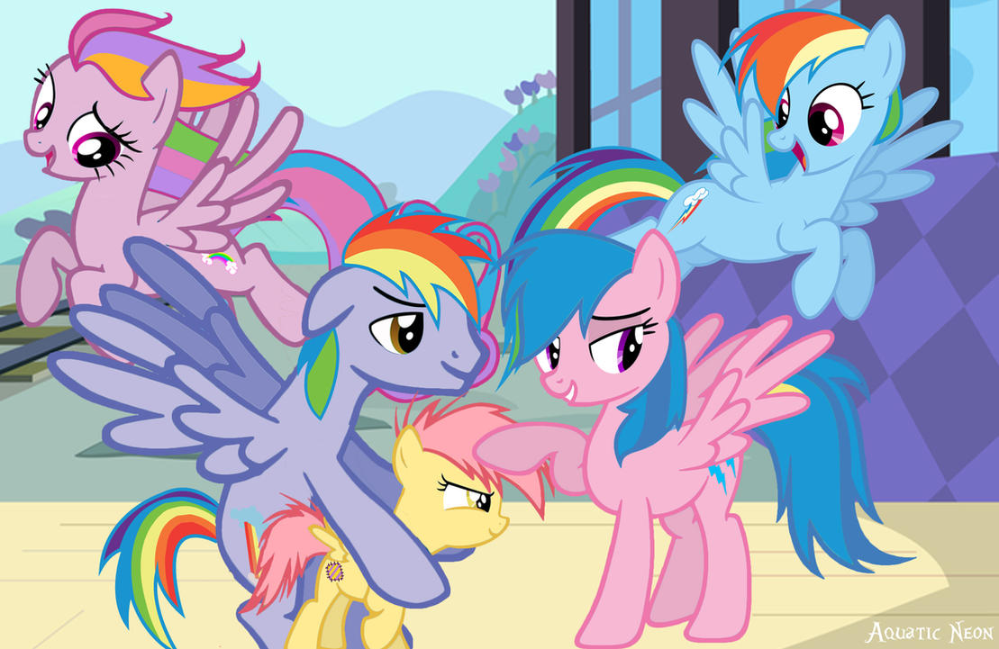 the_dash_family__updated__by_aquaticneon