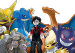 My Pokemon team for FireRed/LeafGreen by GonzaSalas
