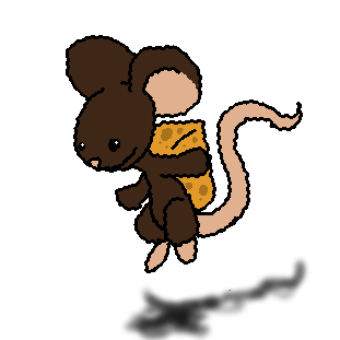 Mouse Has Cheese by Twistitch