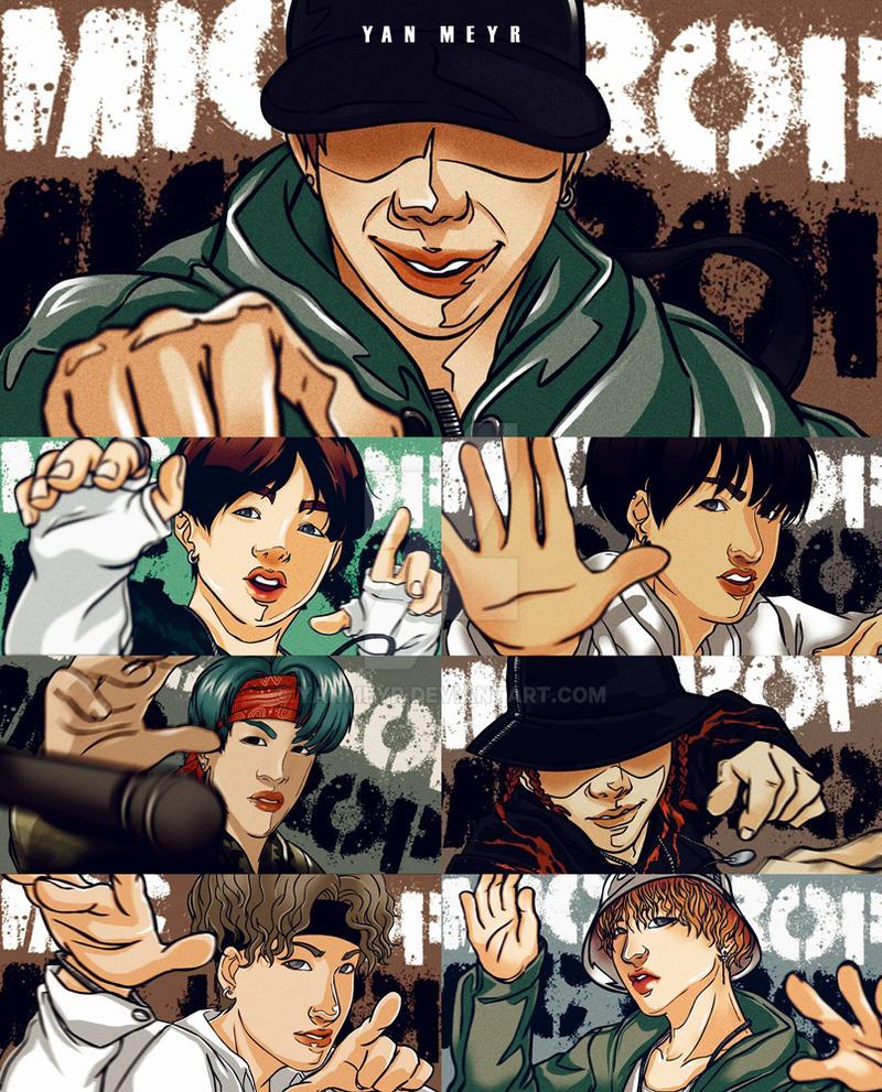 BTS MIC DROP by YanMeyr