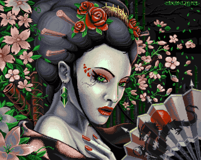 Sushi Girl - Geisha Assassin by dakael